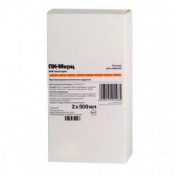 ПК-Мерц, р-р д/инф. 0.4 мг/мл 500 мл №2 флаконы